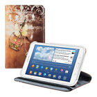 360° ROTATION SYNTHETIC LEATHER CASE FOR SAMSUNG GALAXY TAB 3 7 0 LITE BUTTERFLY