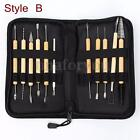 Clay Sculpting Set Wax Carving Pottery Tools Shapers Polymer Modeling