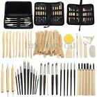Clay Sculpting Set Wax Carving Pottery Tools Shapers Polymer Modeling image