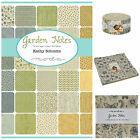 MODA Garden Notes 100 % cotton fabric charm pack, jelly roll, layer cake