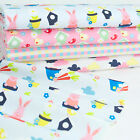 Vegetable Patch Easter Themed FQ Bundle & Fabrics PER Half Metre 100% Cotton
