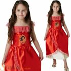 Girls Classic Elena Of Avalor Costume Disney Princess Fancy Dress Child Outfit