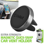 Cellet Extra Strength Magnetic Quick-Snap Car Air Vent Phone Holder Grip Gray