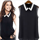 Fashion Women Summer Sold Sleeveless Casual Tank T-Shirt Blouse Tops Vest