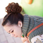 Three Color Synthetic Hair Donut Messy Hair Bun Chignon Hairpiece Wig Fashion