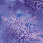 DREAMSCAPE BLENDER PERIWINKLE BENARTEX FABRIC QUILT SEWING CRAFT FREE OZ POST *