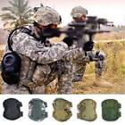 Tactical Knee Elbow Protective Adjustable Combat Pad Protector Gear Sports 4PCS
