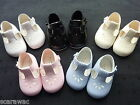 BABY GIRLS/BOYS SHOES* EARLY DAYS/BAYPODS 6 COLOURS , 0-3m to 12-18m ..SOFT SOLE