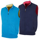 67% OFF RRP Bobby Jones 2016 Mens Cotton/Merino Full Zip Reversible Sweater Vest
