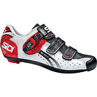 Sidi Men's Genius Fit Carbon Road Cycling Shoes White / Black / Red