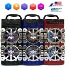 Portable Bluetooth Speaker Wireless Outdoor Rechargeable FM Radio/AUX/TF/USB