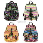 Vintage Women's Canvas Travel Rucksack Girl School Bag Satchel Bookbags Backpack