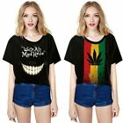 Creative Tops Women One Size Short Sleeve Blouse Loose Lady T-Shirt Girl