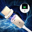 Braided Magnetic Lightning USB Charger Charging Cable For Android Samsung LG HTC