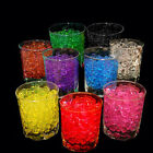 Lots Colorful Water Plant Flower Jelly Crystal Soil Mud Hydro Gel Beads Balls