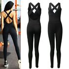 Women's Ladies Sports Gym Yoga Workout Fitness Leggings Jumpsuit Athletic Pants