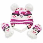 Внешний вид - Disney Store Minnie Mouse Winter Beanie Hat & Mittens Set for Baby Size 6-12M