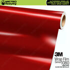 3M 1080 G203 GLOSS RED METALLIC Vinyl Vehicle Car Wrap Decal Film Sheet Roll