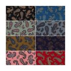 Percy's Paisley Pattern Leaves Flowers Floral 100% Cotton Poplin Fabric