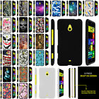 For Nokia Lumia 1320 Ultra Slim Fitted Snap On Case Unique Designs + Stylus Pen