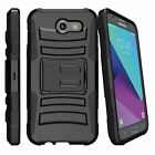 For Samsung Galaxy J3 Emerge | J3 (2017) Dual Layer Stand Case Stylish Designs