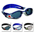 Aqua Sphere Kaiman Exo Mens Swimming Goggles - Male Swim Goggles White Black