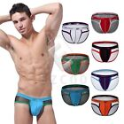 Men's Underwear Streth Mesh Breath Freely Cool U-Convex Briefs Lingerie S-L