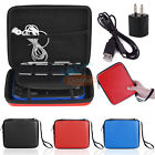 Travel Kit Hard Shell Carrying Case +Charging Cable+USB Adapter for Nintendo 2DS