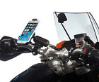 Motorcycle M6 M8 M10 Clamp Bolt Din Powered Mount + Extender for iPhone 6 6s 4.7