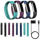Replacement Watch Wrist Band Strap + 3FT Charger Cable For Fitbit Alta Wristband