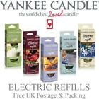 Yankee Candle Electric Plug Refills Variety of Fragrances FREE P&P