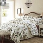 Floral Quilt/Doona Covers Set Queen King Size Bed Long-Staple Cotton Duvet Cover