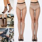 Black Long/Short Fishnet Pantyhose Nylons Hosiery Stockings Neon Retro Costume