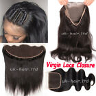 Lace Closure 100% Virgin Human Hair Frontal 360 One Bundle Straight Wave US F107