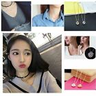 Choker Crystal Jewelry Fashion Lady Pendant Zircon Women Necklace Simple Girl