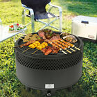 Portable Smokeless Charcoal Electric Barbecue Backyard Grill Oven Outdoor BBQ US photo