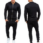 Men Tracksuit Jogging Bottom Sport Suit Sets Coat Trousers Casual Sweatshirt New