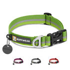 Ruffwear Crag Adjustable Reflective Dog Collar with Side Release Buckle