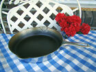 Griswold Cast Iron #8 Large Block Logo Chrome Plated Skillet –Cleaned Seasoned