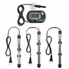 100W 200W 300W Aquarium Heater Submersible Fish Tank Water + LCD Thermometer