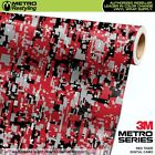 DIGITAL RED TIGER Camouflage Vinyl Car Wrap Camo Film Decal Sheet Roll Adhesive