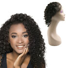 Lace Front Brazilian Human Hair Wigs Grade 7A Deep Curly 14