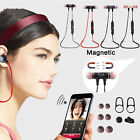Magnetic Sports Wireless Bluetooth 4.2 Headset In-Ear Stereo Headphones/Earphone