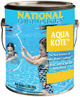 National Paint 1 Gallon Aqua Kote Water Base Swimming Pool Paint-(Various Color)