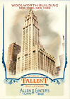 2012 Topps Allen & Ginter World's Tallest You Pick the Card Finish Your Set