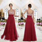 Womens Party Ball Prom Gown Formal Bridesmaid&#039;s Lady Cocktail Long Evening Dress <br/> US Stock❤Fast Free USPS Shipping❤Backless❤Floor-Length