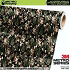 camouflage vehicle wrap - MINI WOODLAND Camouflage Vinyl Vehicle Car Wrap Camo Film Sheet Roll Adhesive