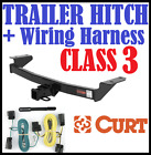 Curt Trailer Hitch & Vehicle Wiring Harness Fits 84-88 Toyota Pickup 13086 59146