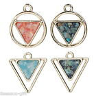 3PCs 2017 New High Quality Polygon Pendants Diy Fashion Jewelry M20895