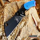 6 COLORS CAMPING HUNTING Assisted Open Pocket Folding Knife CLEAVER RAZOR Blade